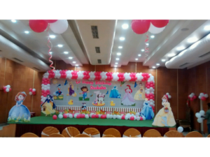 Princess Decoration By Birthday Party Events Hyderabad