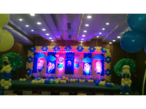 Minions Theme Decoration By Birthday Party Events Hyderabad