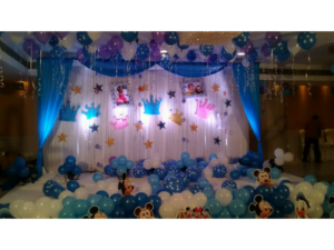 Crown Theme By Birthday Party Events Hyderabad
