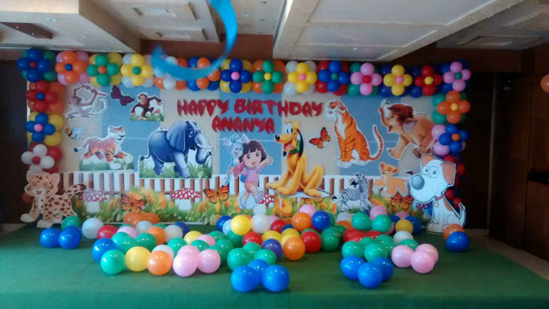 2D Themes by Birthday Party Events hyderabad